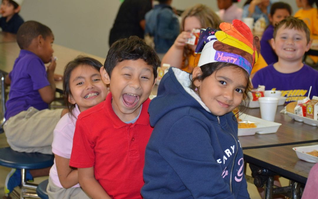 Thanksgiving Feast at Herty Primary