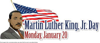 Martin Luther King Holiday – January 20th