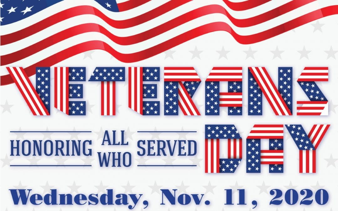 Veterans Day, November 11th