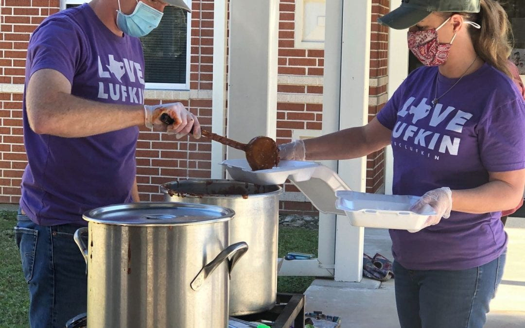 First Baptist Church Feeds Herty Families