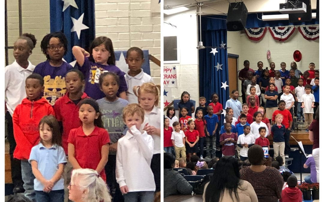Veterans Day Program Pictures