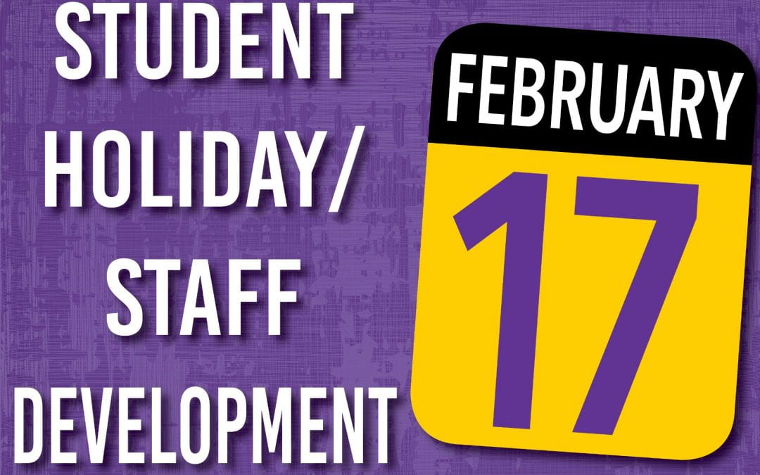 Staff Development/ Student Holiday