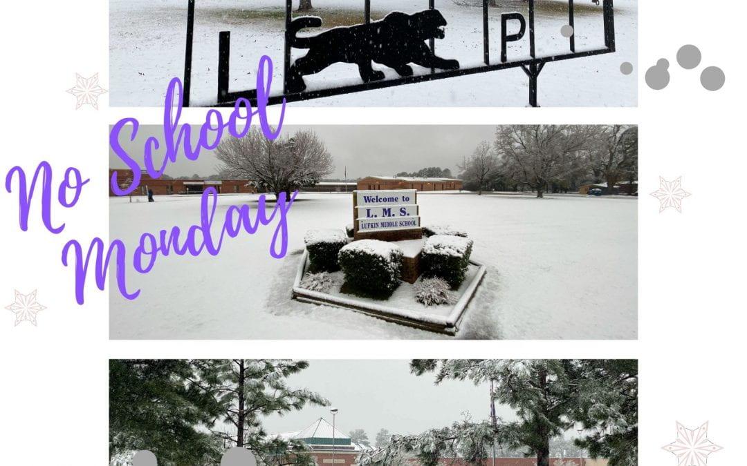 SNOW DAY: School canceled on Monday, Jan. 11, 2021