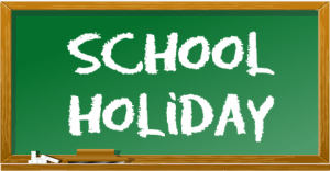 School holiday- April 19th