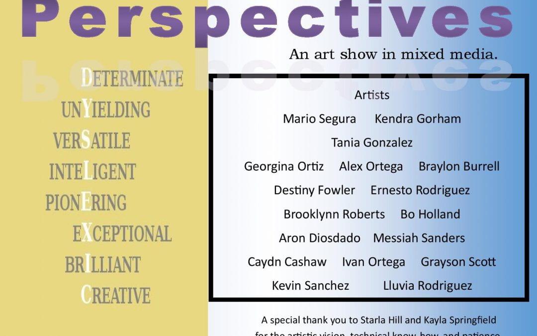 Perspectives-A mixed-media art show