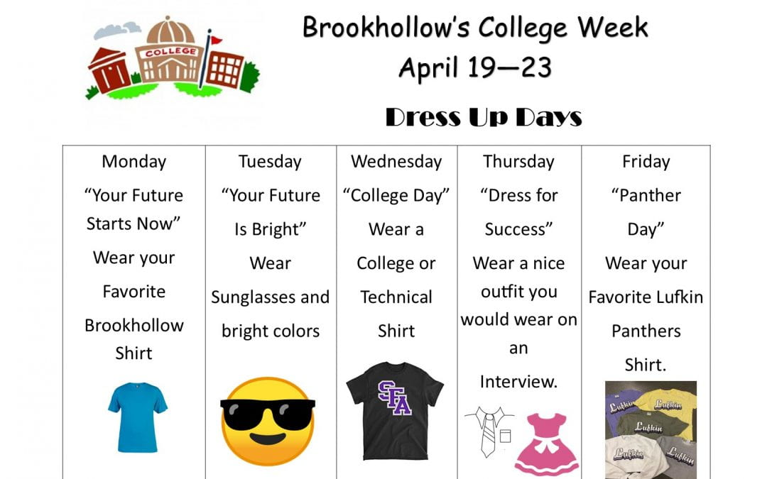 Brookhollow Celebrates College Week