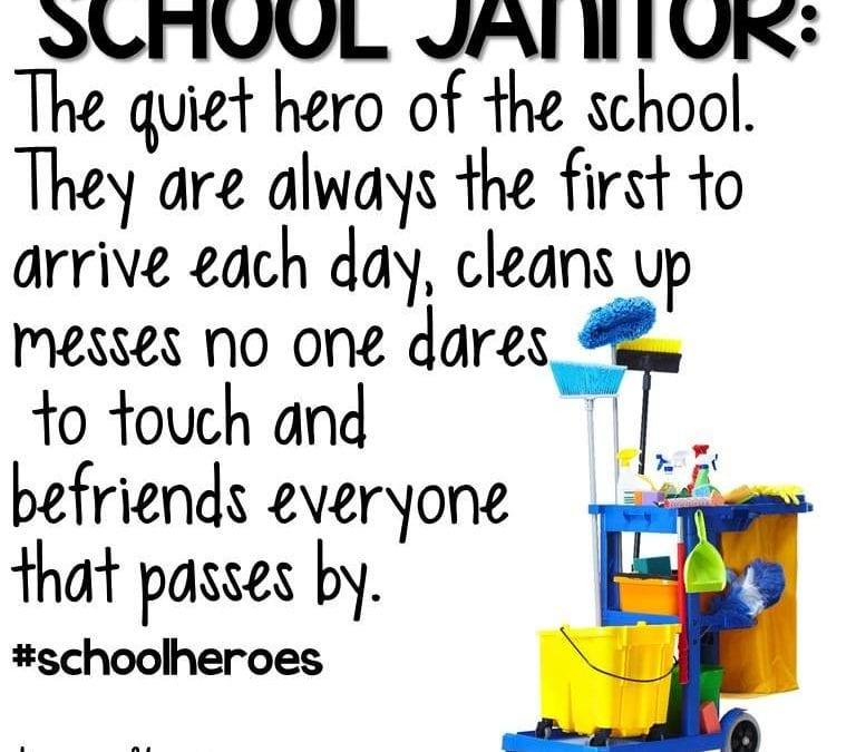 School Custodian Day- October 2,2019