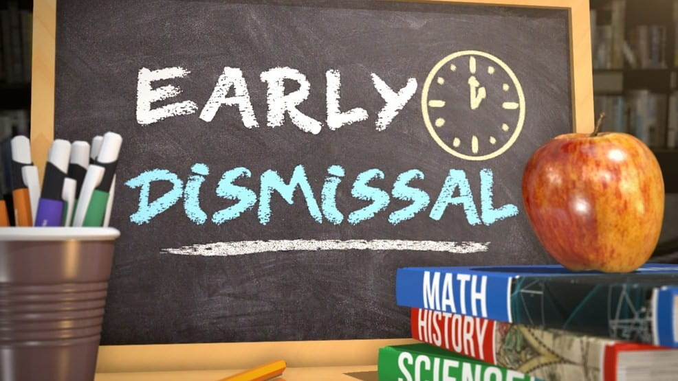 September 25, 2019-Early Dismissal at 11 a.m./ Staff Development