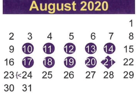 Start and Stay Strong! BACK TO SCHOOL! August 24, 2020
