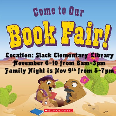 Wild West Book Fair November 6-10, 2017