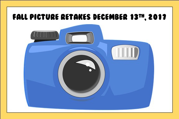 Fall Picture Retakes December 13, 2017