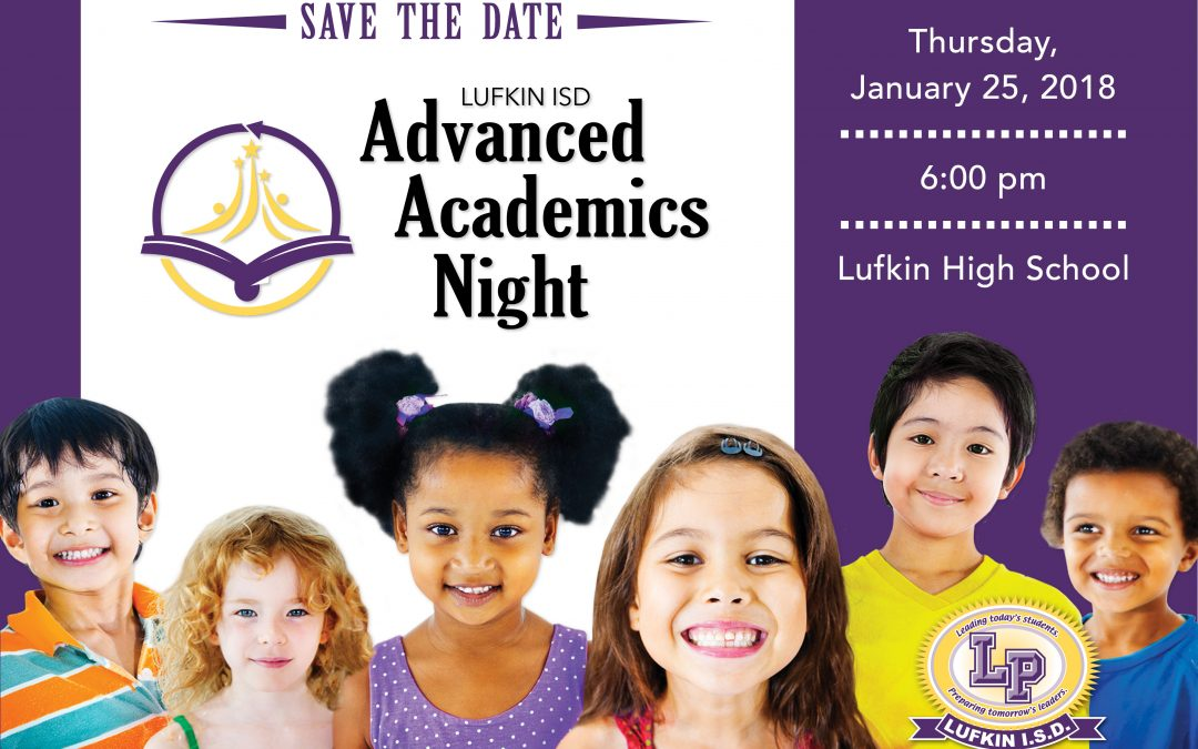 Save the Date: Advanced Academics Night slated in January