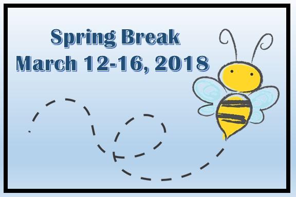 Spring Break Coming Soon