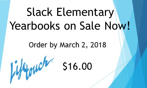 Order Your Yearbook by March 2, 2018!