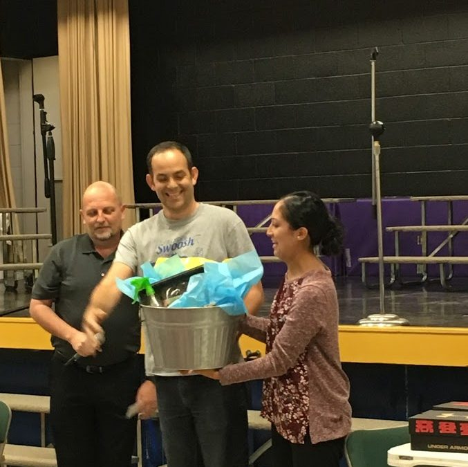 Congratulation to our Teacher of the Year, Mr. Monsante!