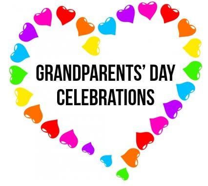 Grandparents' Day Lunch September 6th (4th &5th) – 7th (2nd & 3rd)