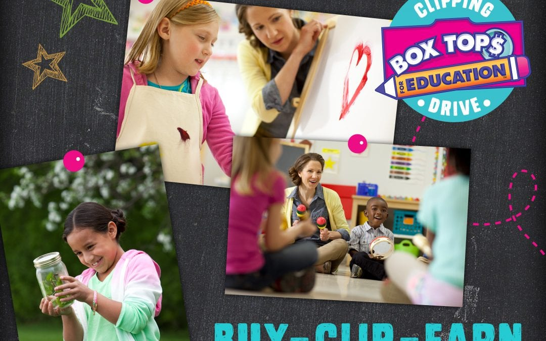 National Box Tops Week September 17-23, 2018