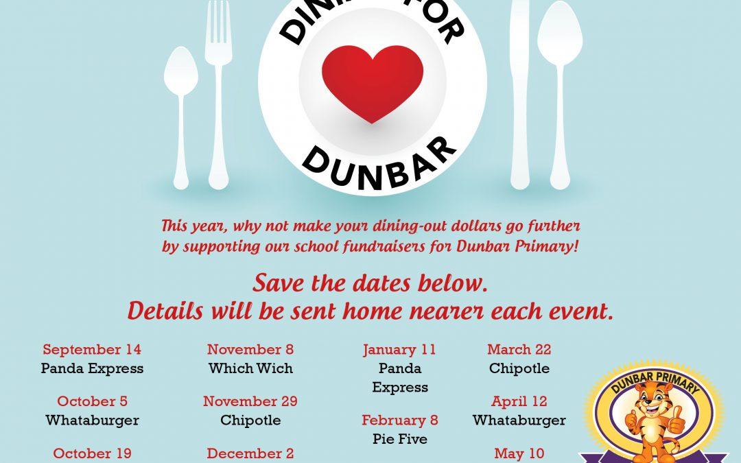 Dining for Dunbar