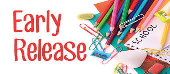 Early Release Friday, November 22, 2019