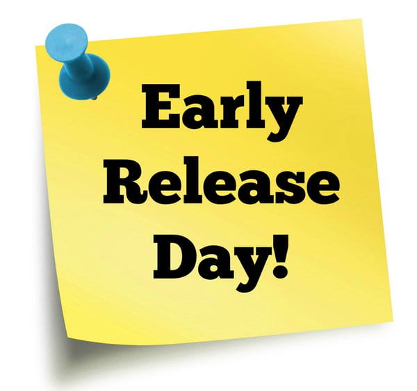 Friday, March 6, 2020: Early Release at 12:00 p.m.