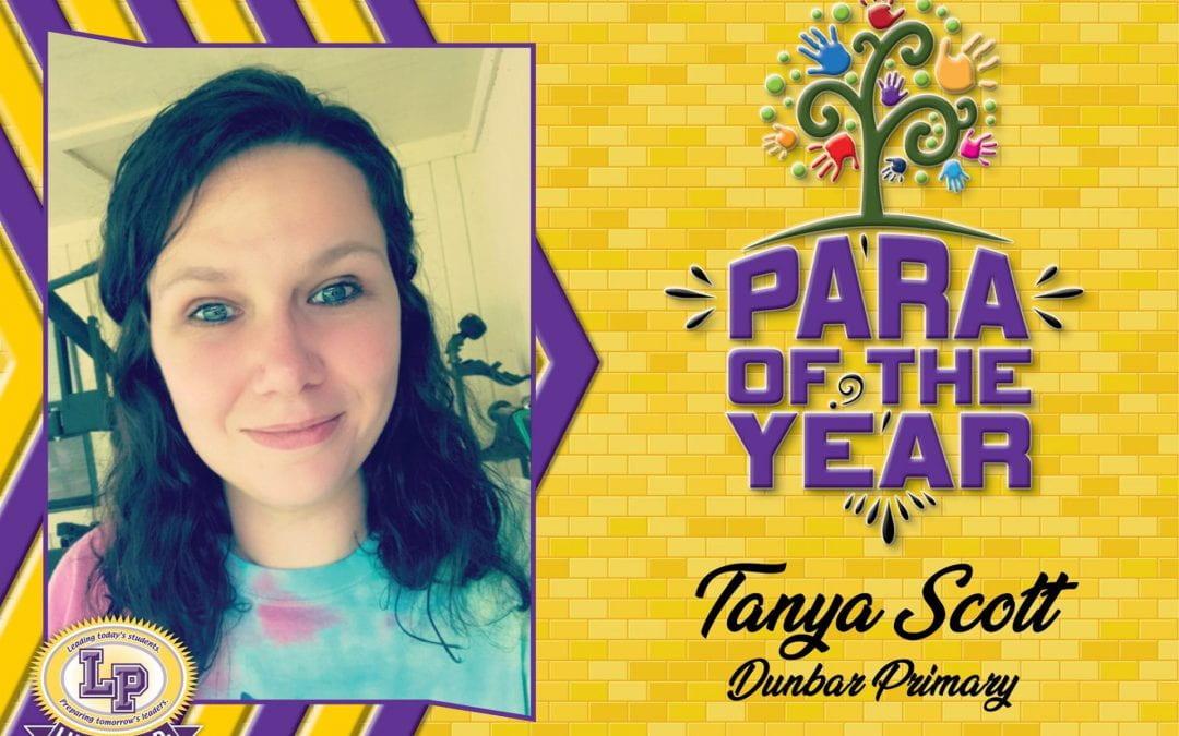 Congratulations Mrs. Tanya!