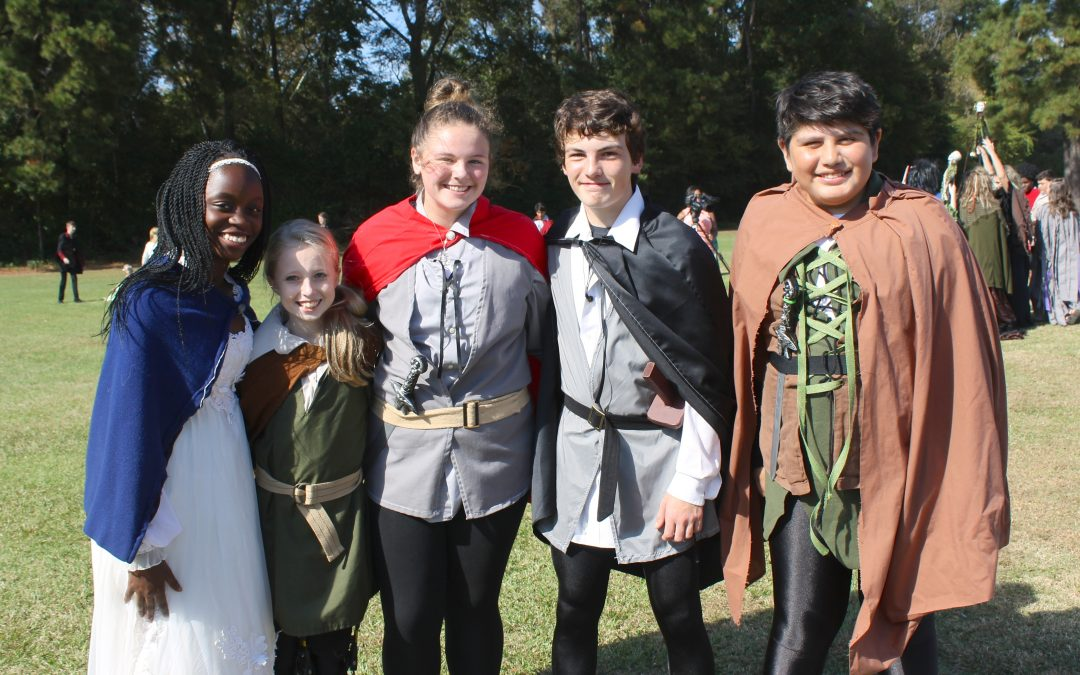 GT English Class takes a step back in time at the Renaissance Festival