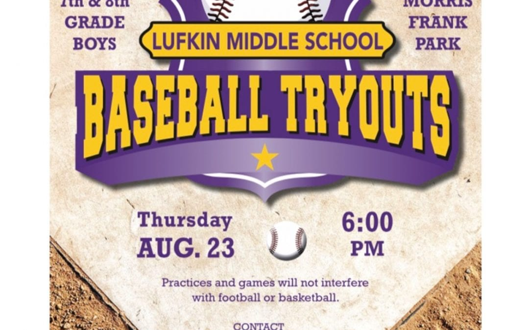 LMS Baseball Tryouts