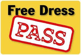 Early Release Free Dress