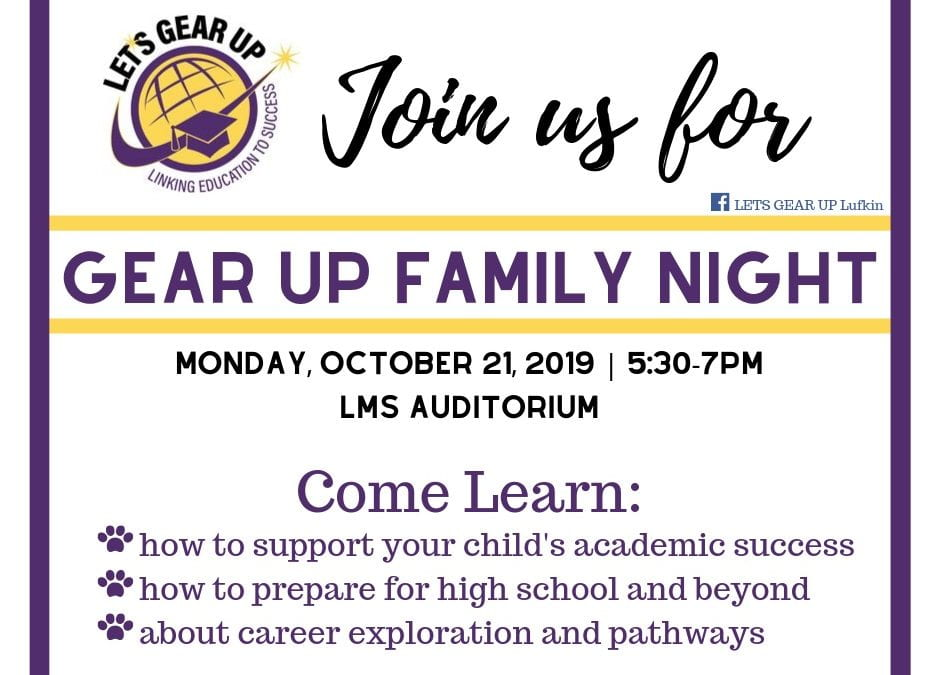 Gear Up Family Night
