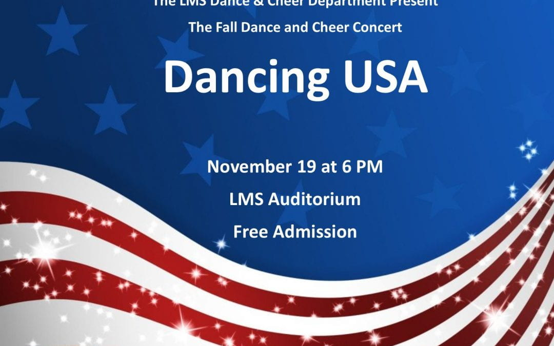 Fall Dance and Cheer Concert