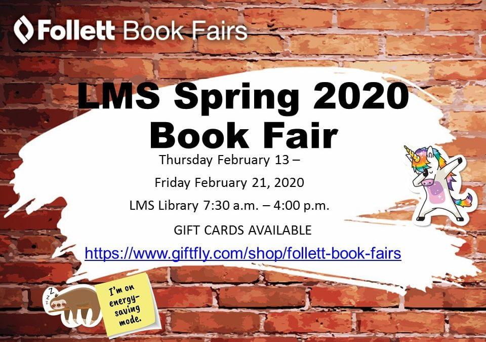 LMS Spring 2020 Book Fair