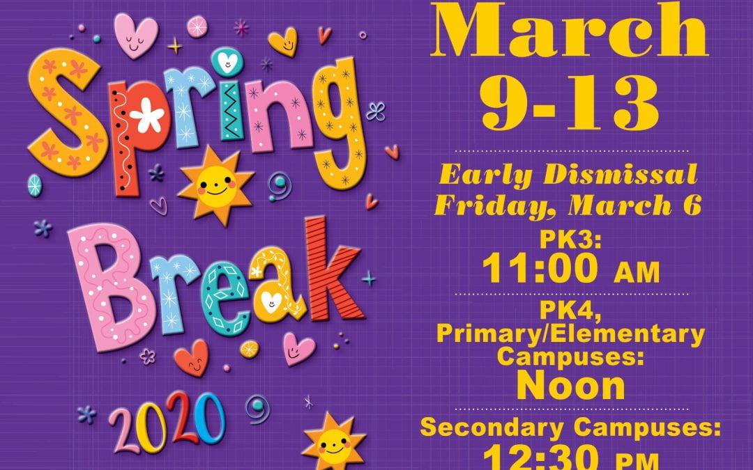 Spring Break 2020!