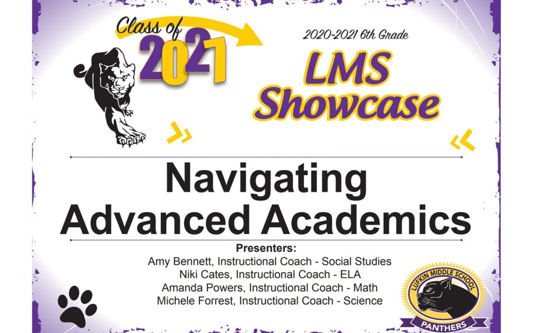 LMS Navigating Advanced Academics