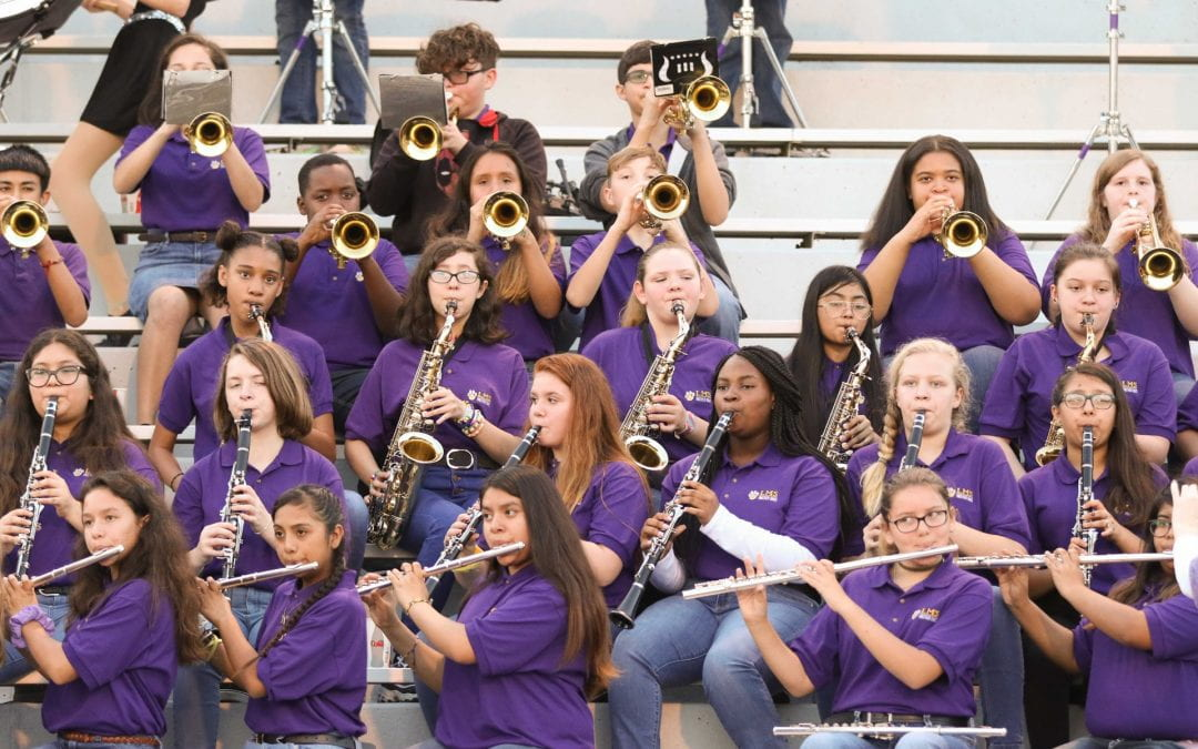 Incoming LMS students encouraged to consider joining the band