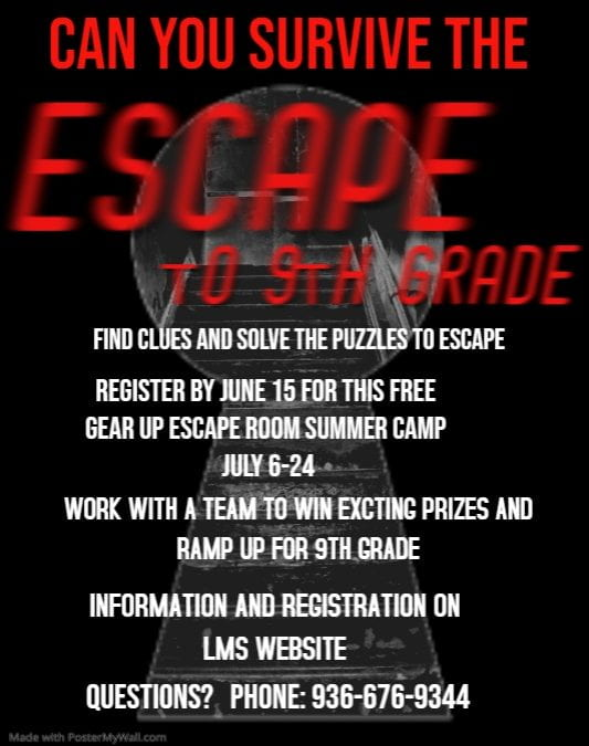 Apply now for 9th grade GEAR Up virtual summer camp