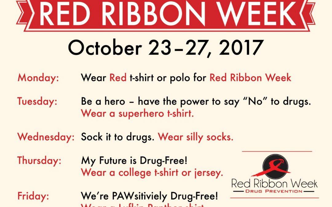 Red Ribbon Week at Brandon