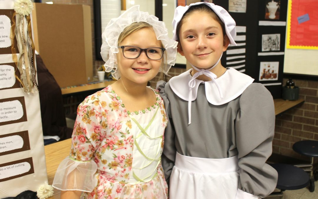 5th grade GT takes a step back in time to Colonial Boston