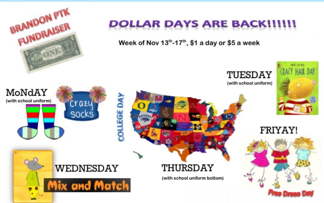 Dollar Days at Brandon!