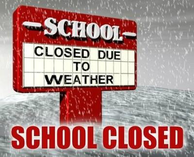 School canceled Tuesday, January 16th