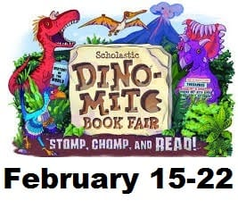 Get Ready for a DiNo-MiTe Book Fair!