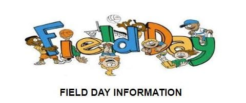 Field Day, May 18th, for Students Only