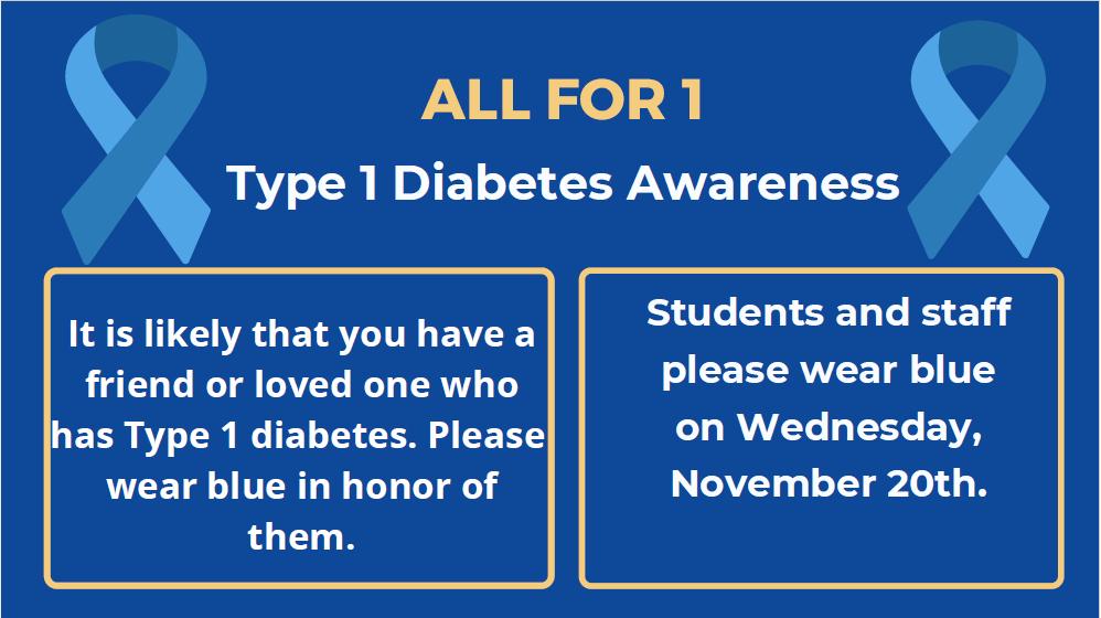 Type 1 Diabetes Awareness Day