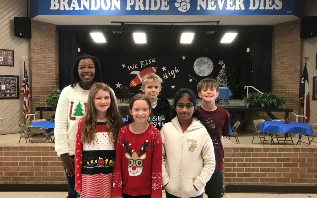 Congratulations to our 2019-2020 Spelling Bee Team!