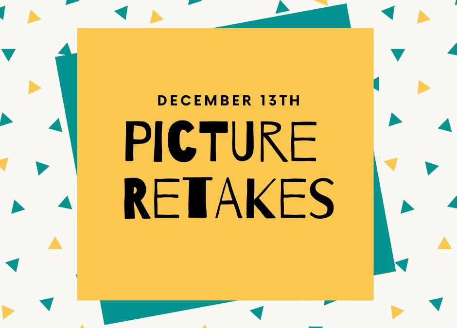 Picture Retakes Dec 13th