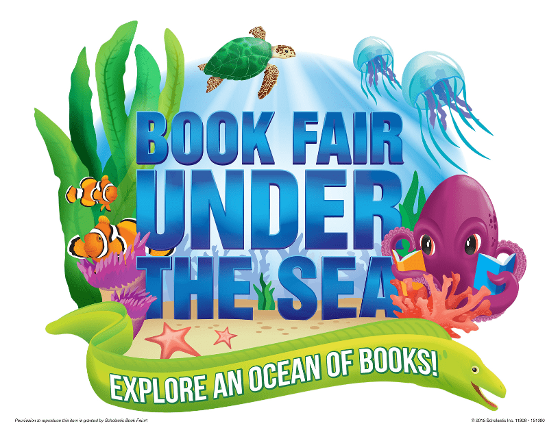 Book Fair Under the Sea is coming!!! Dec 7-20, 2020