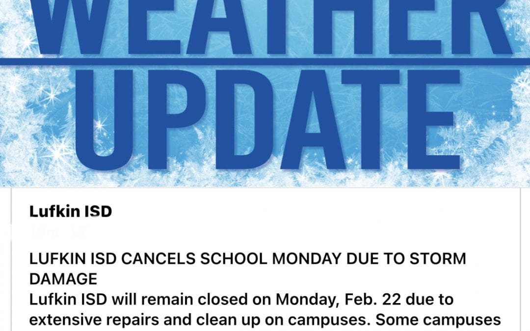 Weather Update February 22nd