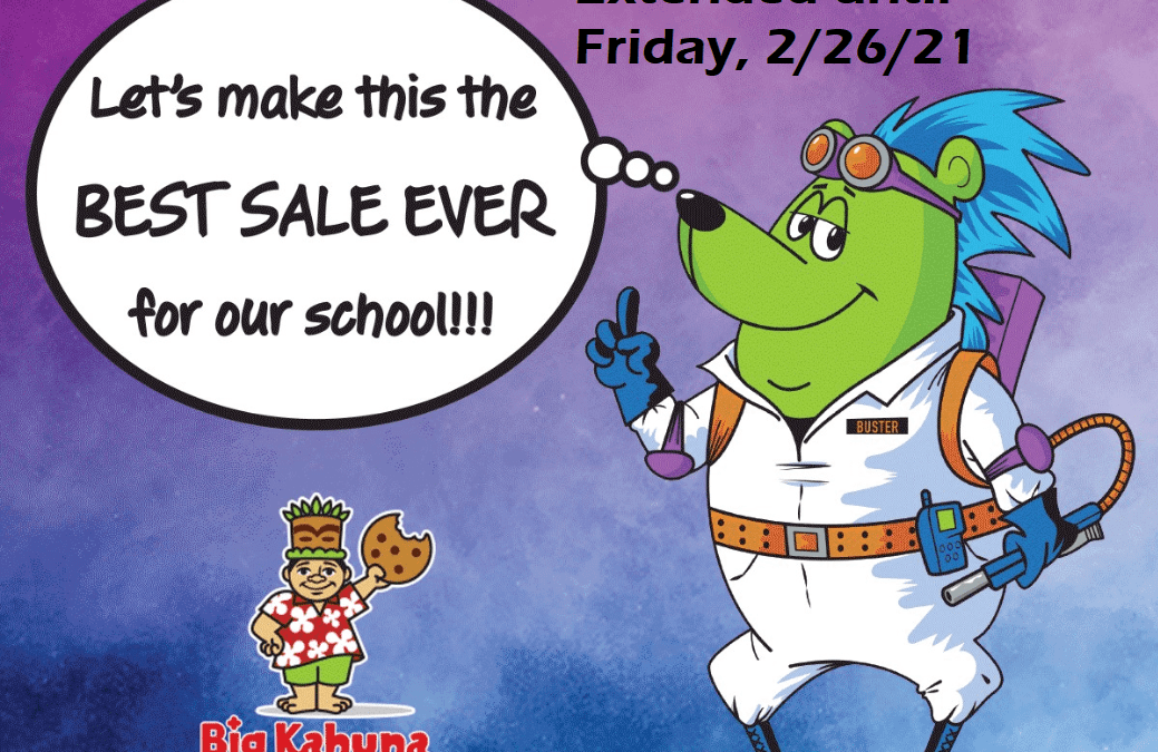 Our Big Kahuna Fundraiser has been extended!
