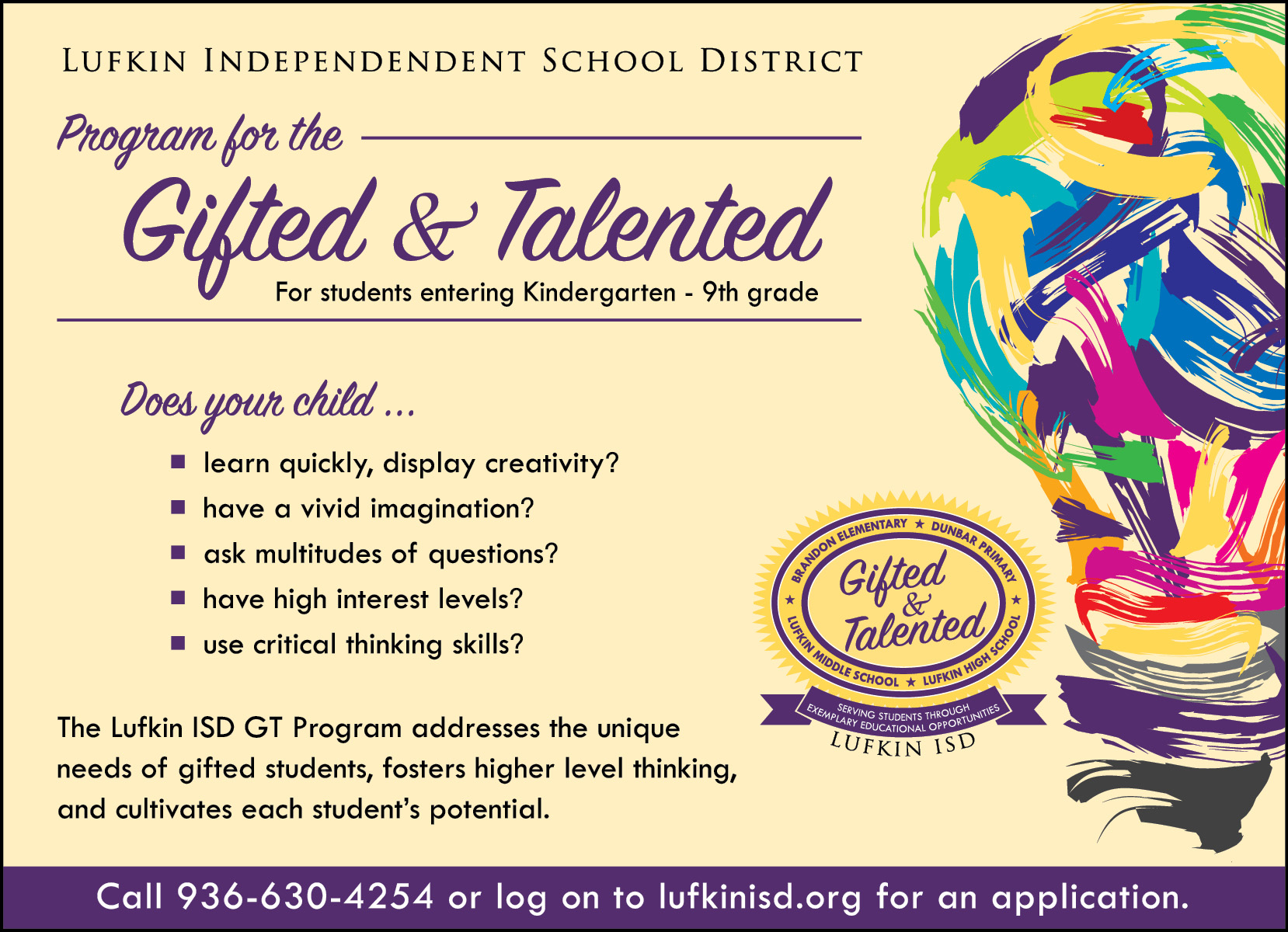 gifted talented The queensland association for gifted & talented children inc we are an open  association of people who share a common interest in gifted and talented.