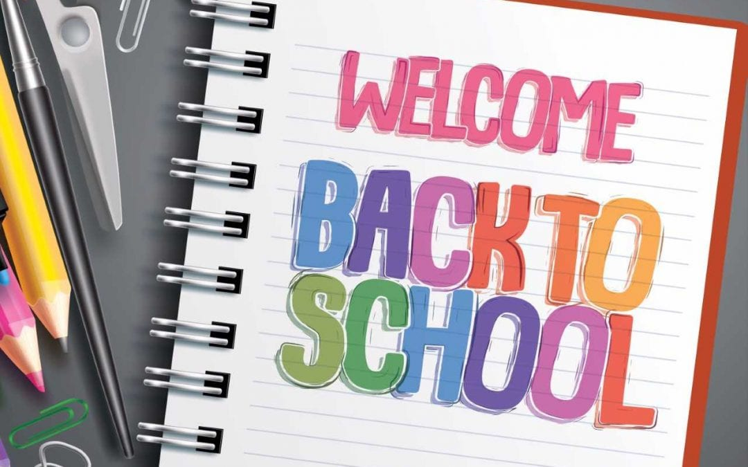 Wednesday, August 15th is the first day of school!