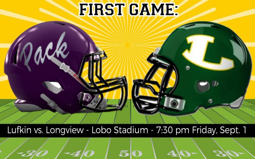 Pack faces Lobos in Longview Friday night!